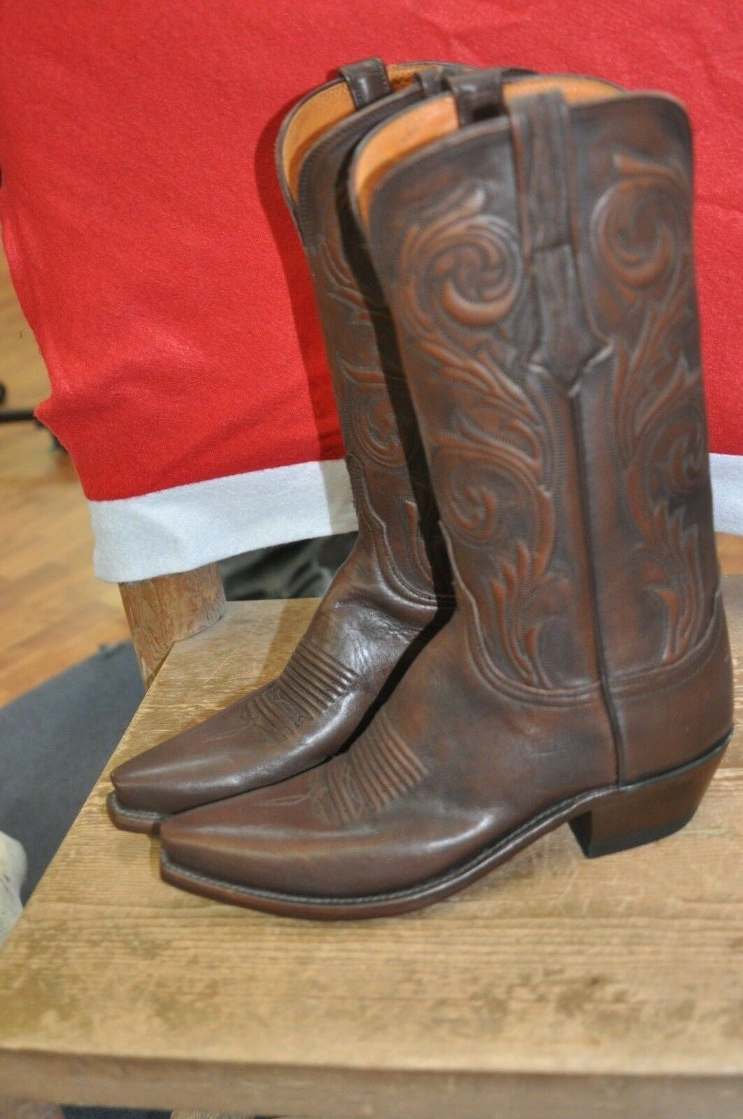 Women's Nicole Nicole Nicole Lucchese N4771.54 Antique Castagno Gilmar Boots 001163