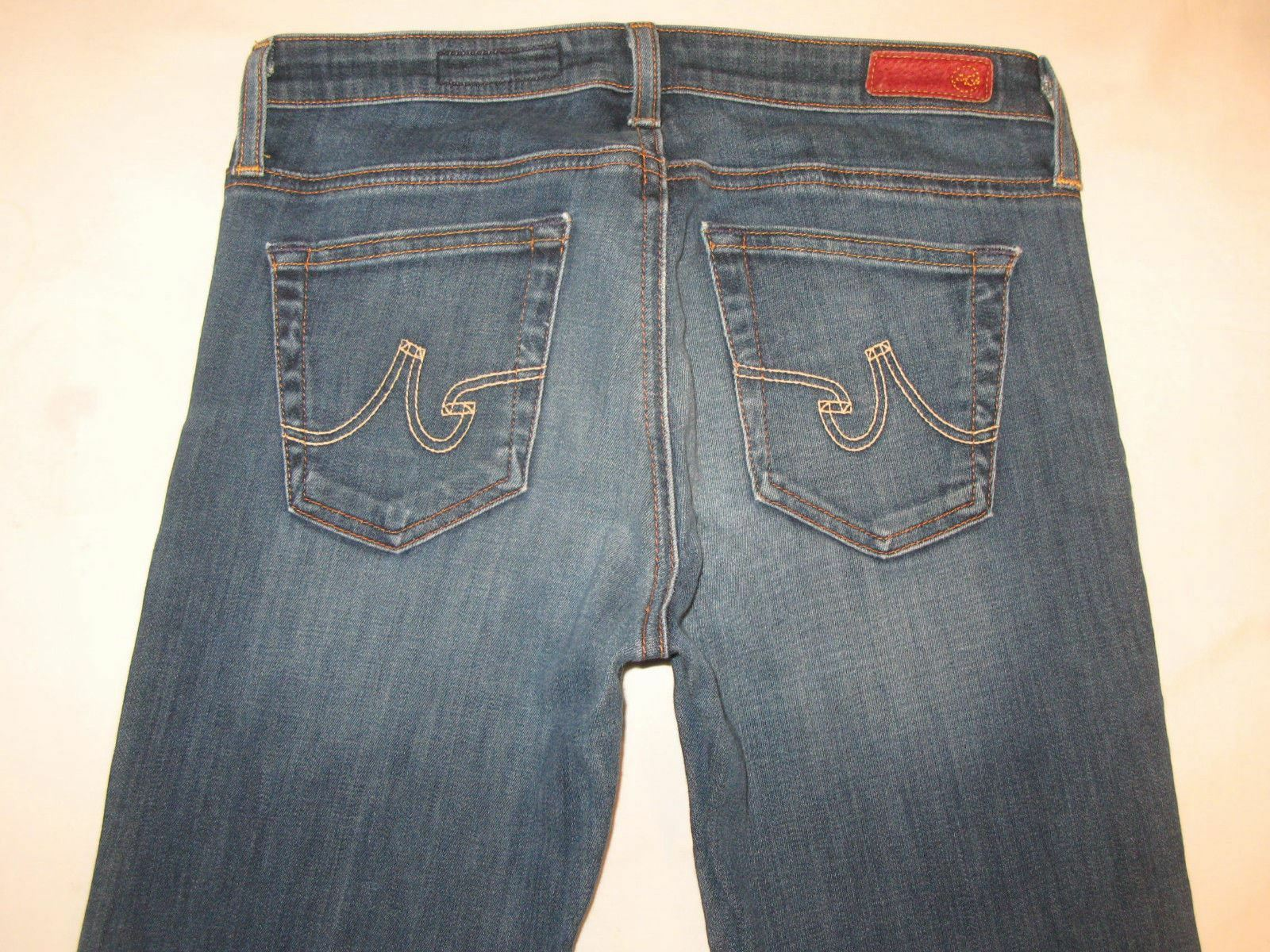 AG ADRIANO goldSCHMIED The Angel Bootcut Jeans Sz 27 Light Denim Very Stretchy