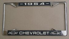 54 1954 Chevy car truck Chrome license plate frame