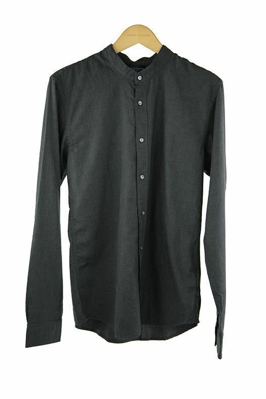 Shirt Sleeve Soda Scotch Size Dark Grey And 100 Rrp Long M P109 0kPN8wOnX
