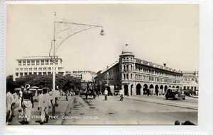 Gq688-407-Real-Photo-of-Colombo-Fort-Ceylon-Sri-Lanka-c1940-Unused-EX