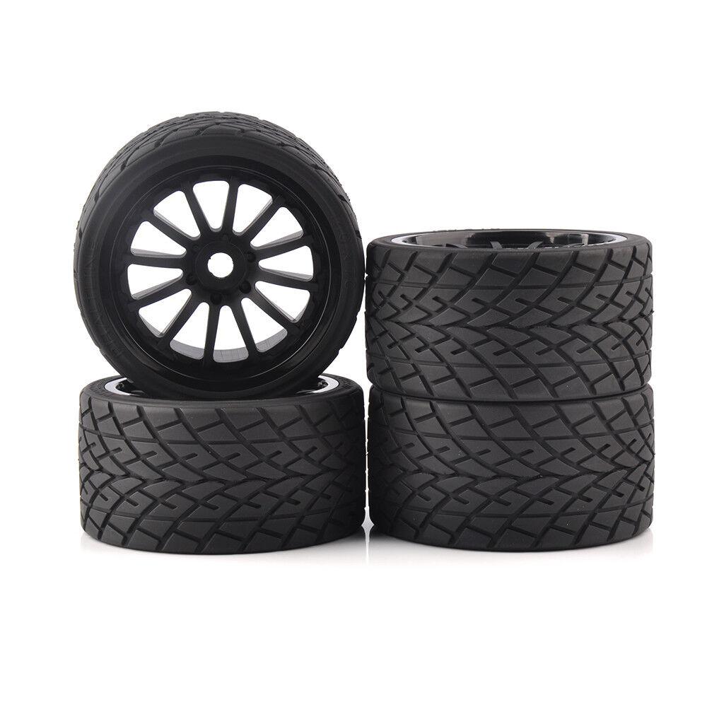 4Pcs 1 8 Neumáticos Monstruo Bigfoot & rueda hexagonal de 17 mm Para Traxxas Camión Coche RC Modelo