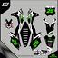 Grafiche-personalizzate-KAWASAKI-KLX-110-Motard-enduro-RiMotoShop-Ultra-grip miniatura 1