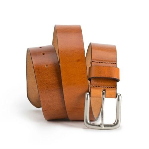 Brothers Leather Belt //// Light Brown