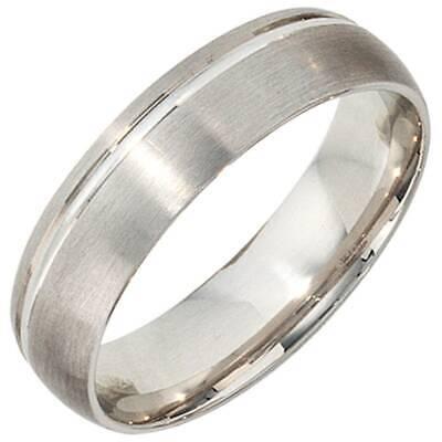 Other Fine Rings Jobo Partner Ring 54mm 925 Sterling Silber Rhodiniert Mattiert Silberring Good For Energy And The Spleen