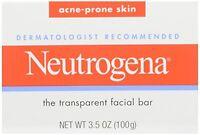 6 Pack - Neutrogena Acne Prone Skin Formula Facial Bar 3.50oz Each on sale