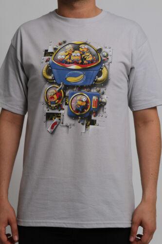 Despicable me 3, Dr robotnik Teefury T-shirt Minions Mean Bean Machine