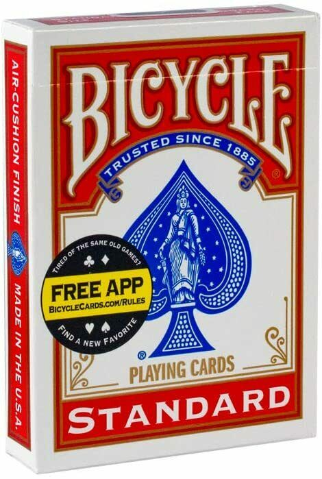 Pack Of 1 Cart Classic Playing Cards In Red And Blue Colours