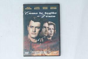 DVD-COME-LE-FOGLIE-AL-VENTO-UNIVERSAL-2005-HUDSON-BACALL-STACK-QO-040