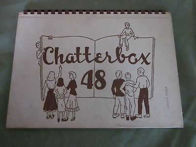 1948 Chatterbox Fond Du Lac Senior High School Year Book