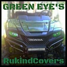 Polaris  RZR 800 900  HULK GREEN Eyes HeadLight Covers head light RUKINDCOVERS