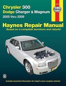 chrysler 300 dodge charger and magnum 2005 thru 2009 by ken freund rh ebay com chrysler 300 service manual download chrysler 300 service manual
