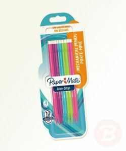 Paper-Mate-2027756-0-7-mm-Non-Stop-Mechanical-Pencil-HB-2-Assorted