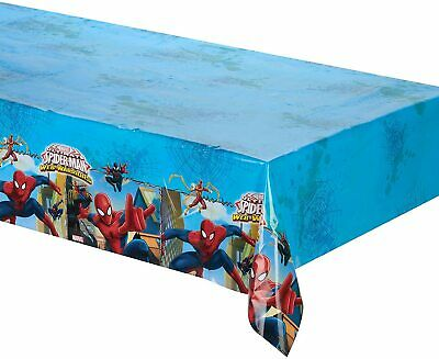Spiderman Plastic Party Tablecover Table Cover Tablecloth Table Cloth Birthday