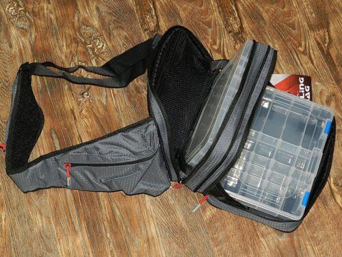 WATHOSE 21x30x12cm f GREYS PROWLA SLING  BAG KÖDERTSCHE KÖDERBOXEN RUCKSACK