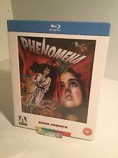 Dario Argento PHENOMENA (Creepers) Arrow Blu ray Limited Edition Slip-case RARE