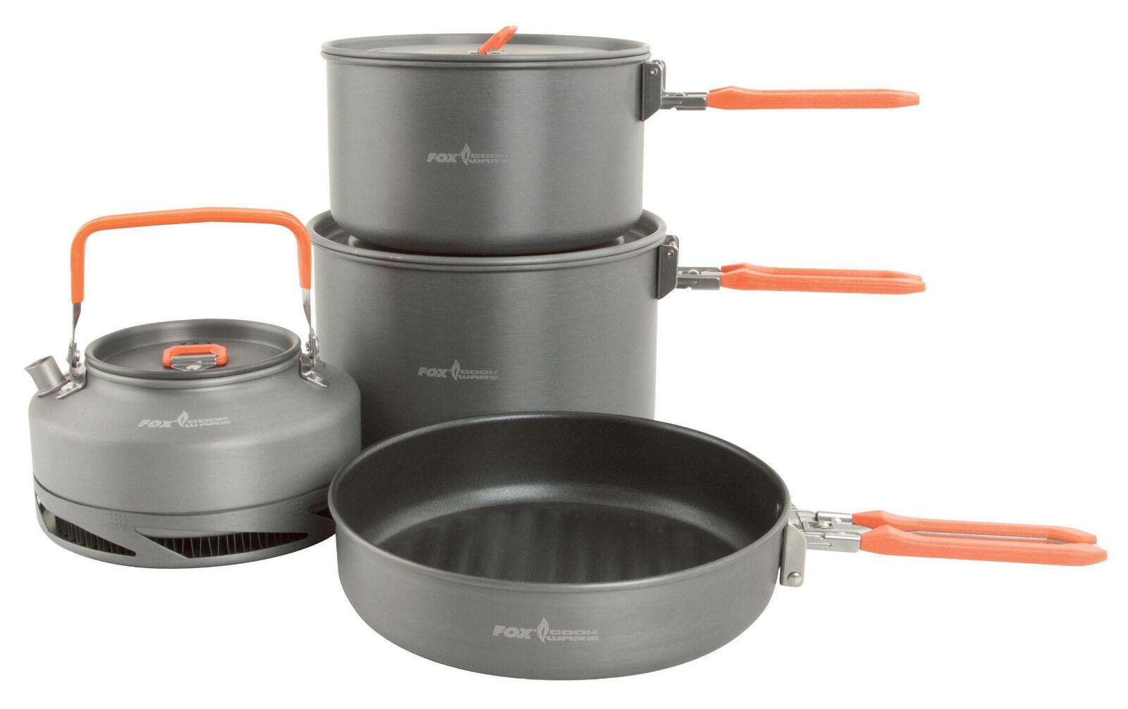 Fox large Cookware set 4 pieces ccw002 vajilla angel vajilla utensilios de cocina