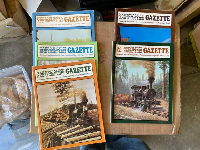 Narrow Gauge And Short Line Gazette Complete Year 1984