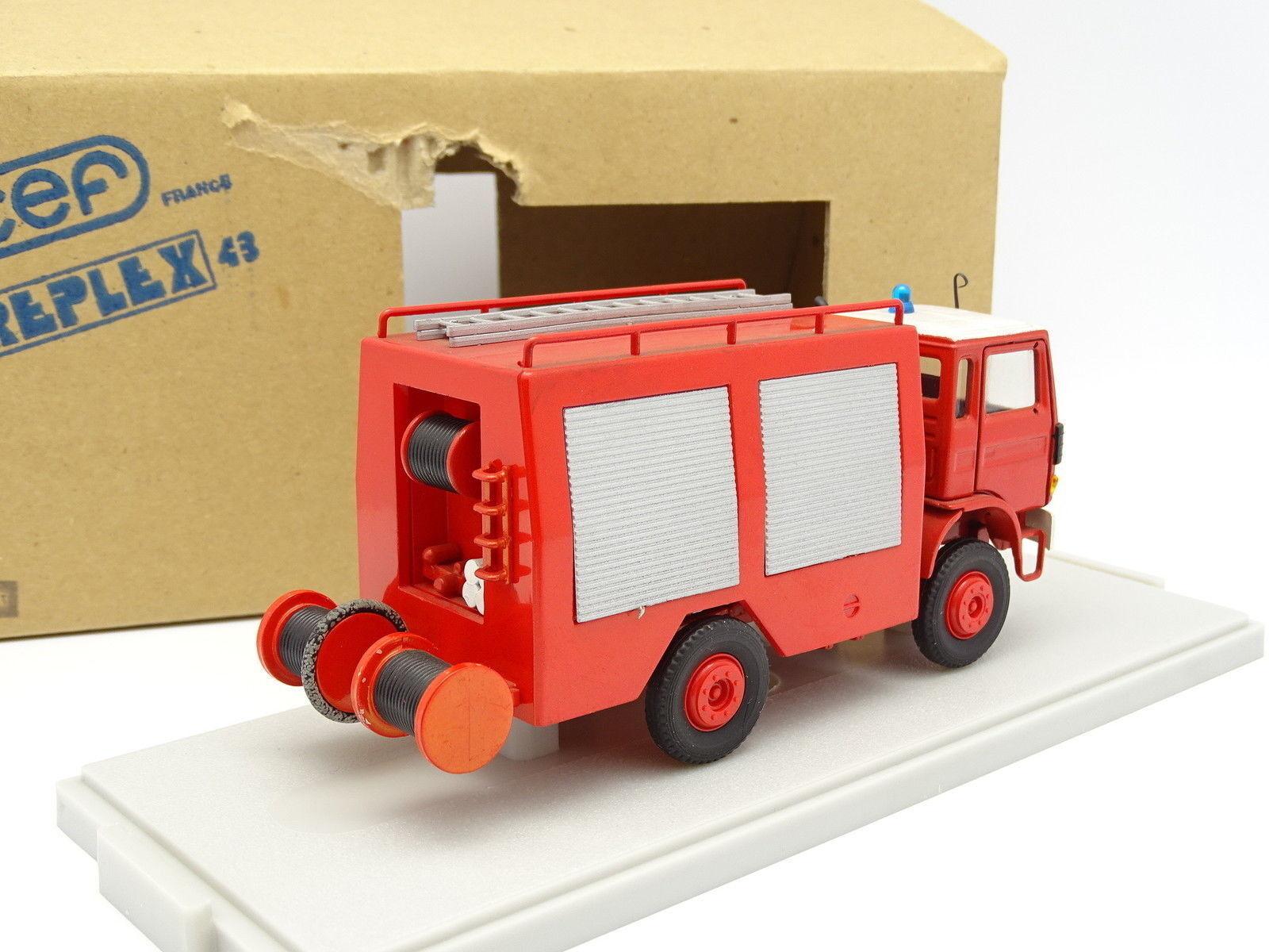 CEF Replex 1 1 1 43 - Renault JK90 Double Cabine Pompiers 091879