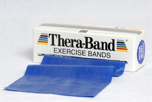 TheraBand esercizio volume 10 m extra forti BLU Thera Band