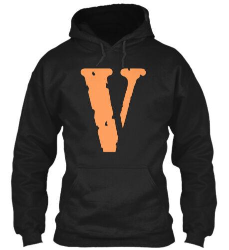 V Gildan Hoodie Sweatshirt Vlone