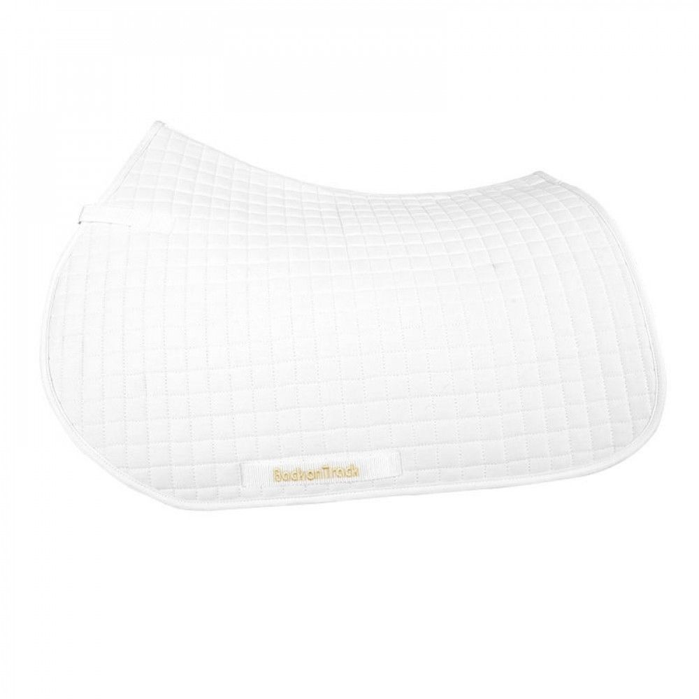 Back on Track All-Purpose English Saddle Pad Creates Soothing Warmth for Muscles