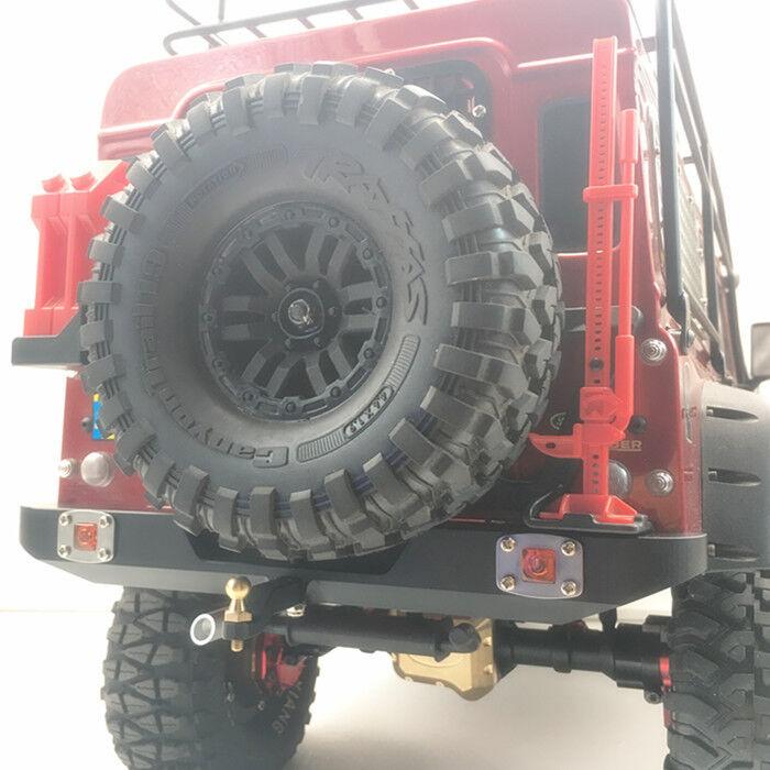 CNC rear bumper with light for Trx4 TRX-4 traxxas