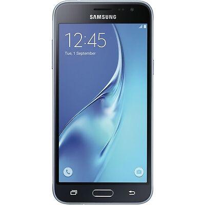 NEW Samsung SM-J320ZZKNXSA Galaxy J3 2016 - Black