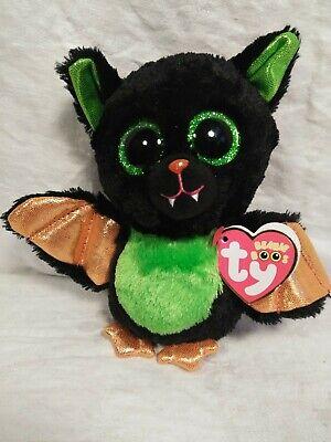 BEASTIE the Halloween Bat NEW MWMT 6 Inch Ty Beanie Boos