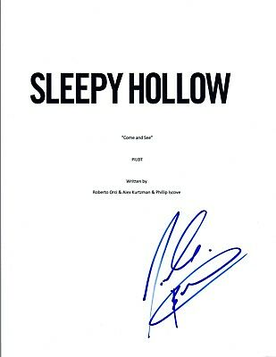 Autographs-original Nicole Beharie Signed Autographed Sleepy Hollow Pilot Episode Script Coa Vd Strengthening Waist And Sinews