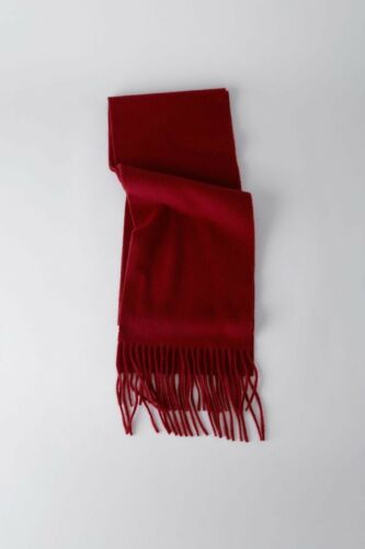 New Authentic Burgundy Acne Studio Scarf Wool Shawl Fringed by Ebay Seller