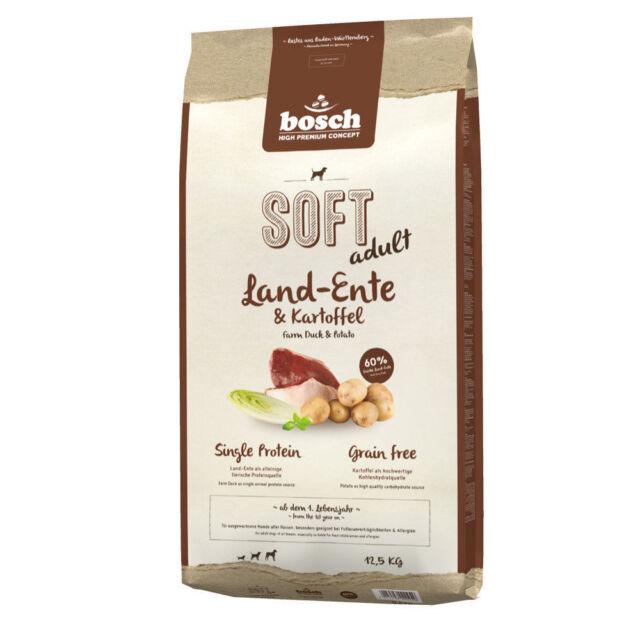 Bosch SOFT Land-Ente & Kartoffel 12,5 kg ***BESTPREIS*** von deutschem Topseller
