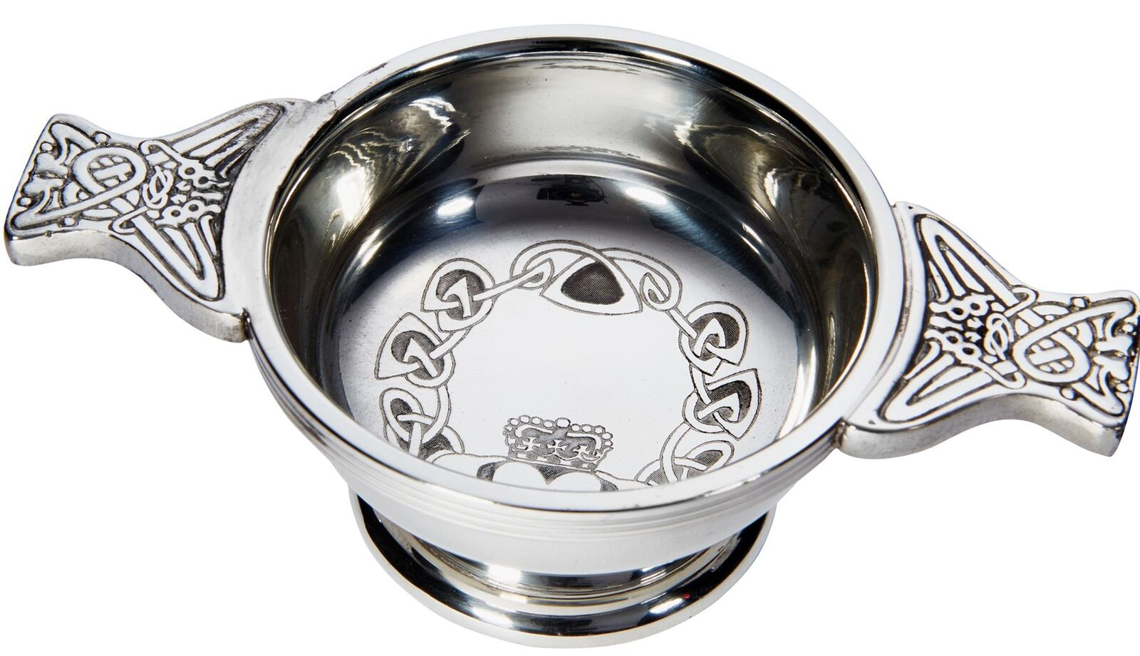Ideal Gift Irish Claddagh Quaich Small Cup Of Friendship 70mm Ideal Gift