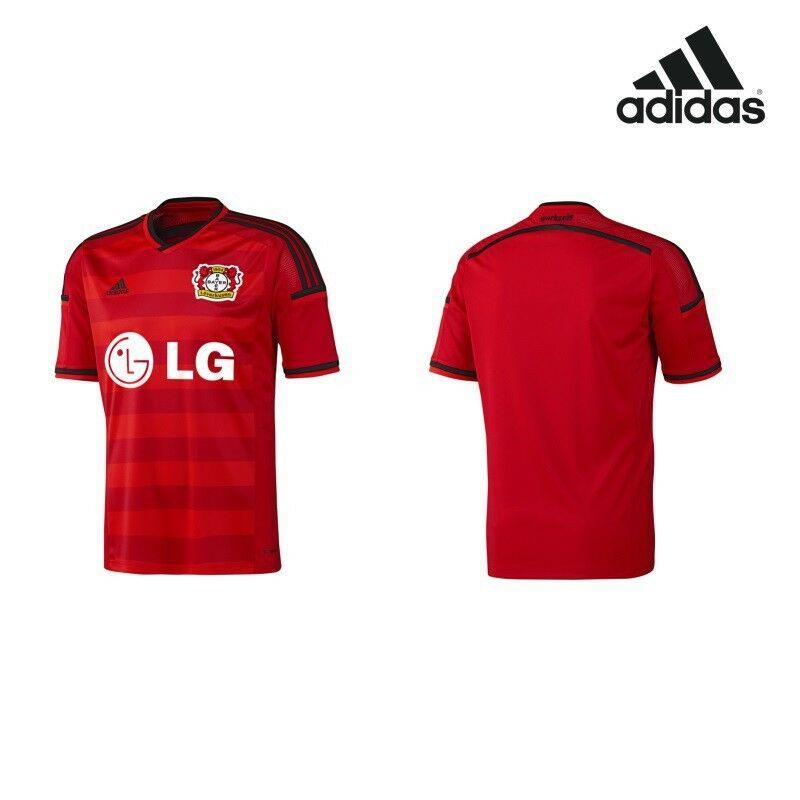 Adidas Bayer 04 Leverkusen Home Heimtrikot 2014 2015 rot schwarz    München Online Shop