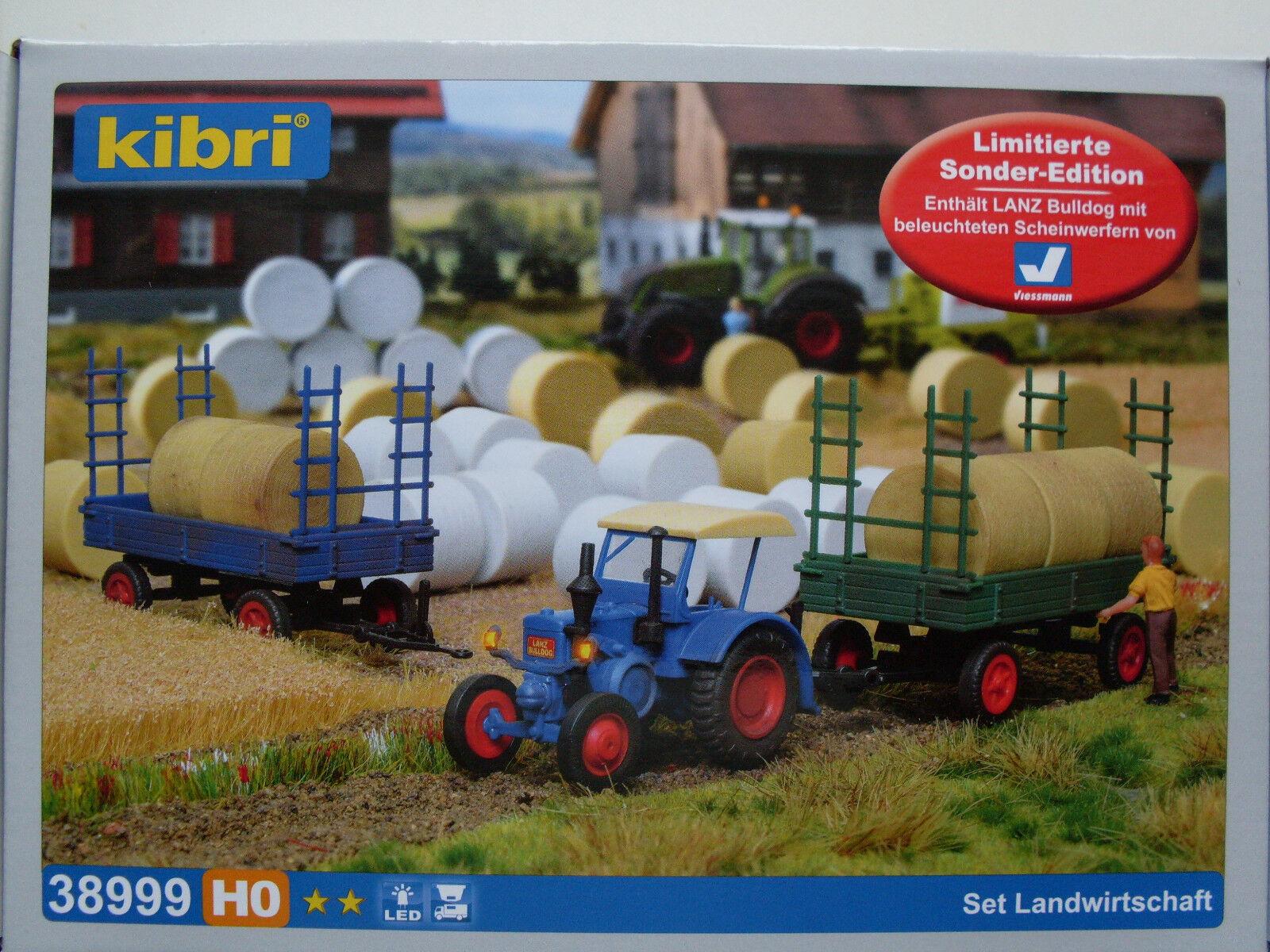 H0 set agricoltura, Mondi Modello Kit 1:87, Kibri 38999
