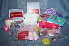 American Girl Happy Birthday Skirt Set Outfit W/shoes Charm Gr8 Gift