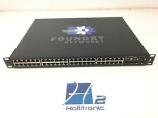 Foundry Brocade FLS648 48-Port Gigabit Ethernet 4x SFP 2x XFP Layer 3 Switch HSS