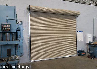 Durosteel J 14 X16 Commercial, Insulated Steel Roll Up Garage Doors