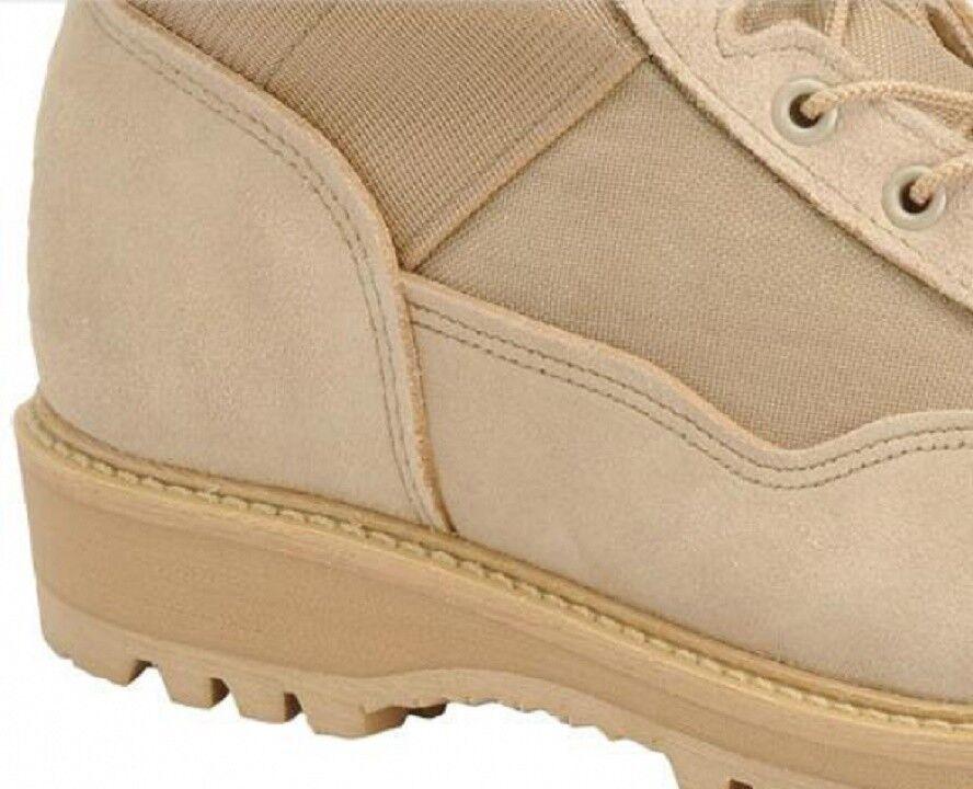 US Army Military CORCORAN   CORCORAN Herren 9 Desert Tan Combat Stiefel ACU Stiefel 8W / 41.5 ee3444