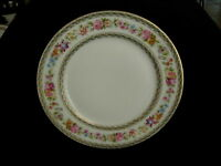 "C A Limoges - Chas Ahrenfeldt 9 1/2"" Dia Dinner Plate  Wright Tyndale Van Roden"