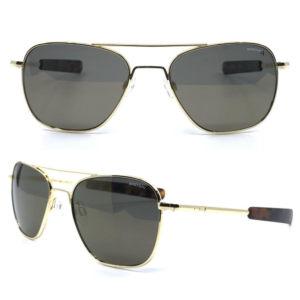 c255472abf Glasses Randolph Engineering Aviator 23k GP Polarized Sunglasses 100 ...