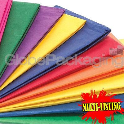 "Brilliant Blue Tissue Paper 18gsm 20 x 30/"" 500 x 750mm Choose Qty"