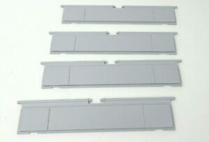 Lot-of-4-NOS-OEM-Super-Nintendo-SNES-Door-Flaps-Genuine-Console-Repair-Parts
