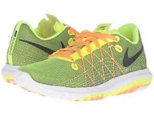ec42d59e683f6 Nike Boy s Flex Fury 2 Athletic   Running Shoes Youth 820283-700 ...