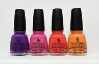China Glaze Nail Lacquer- Electric Nights Collection - Pick Any Color