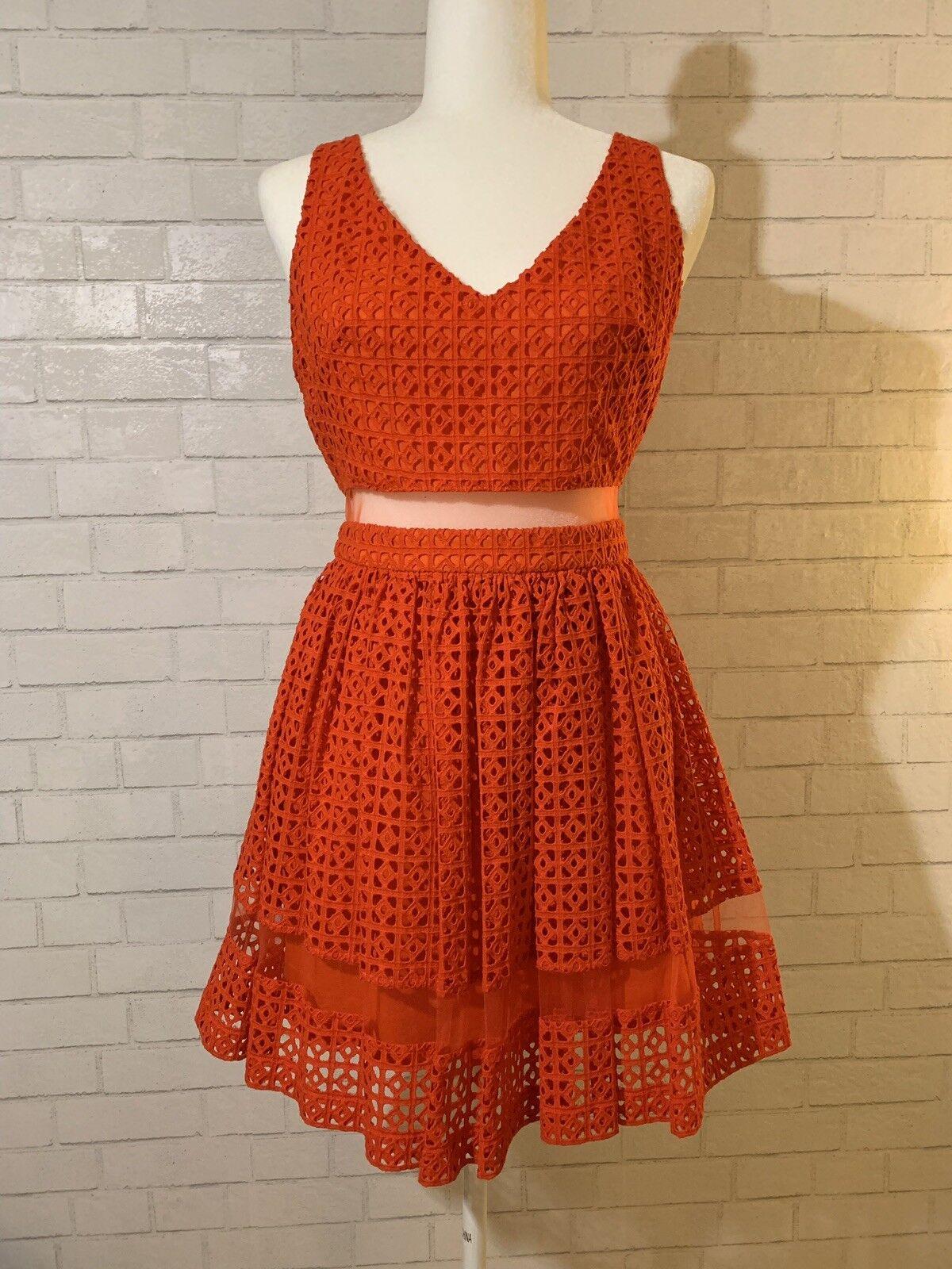 a4ecc0411a3e8 orange Flare Dress Bebe Red npyrbu1467-Dresses - www ...