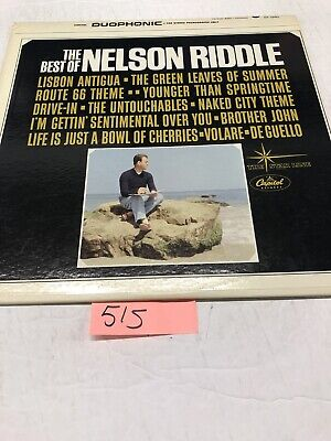 Nelson Riddle - The Best Of Nelson Riddle (1963, Duophonic