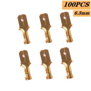 Auto Car Male Electrical Spade Wire Connectors Quick Splice Crimp Terminal 60x