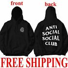 AntiSocial Social Club Hoodie Anti Social Social Club Hooded Kanye Sweatshirts