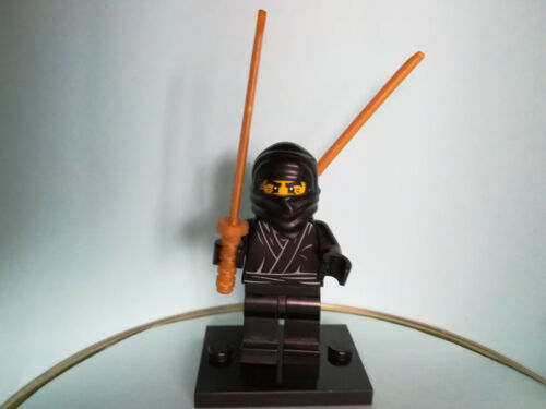 Ninjao Ninja Cole mit 2 Schwertern Lego Figuren